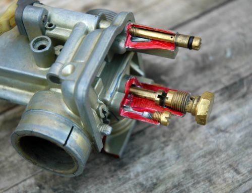 Sezione carburatore Dell'Orto VHB Ducati Scrambler