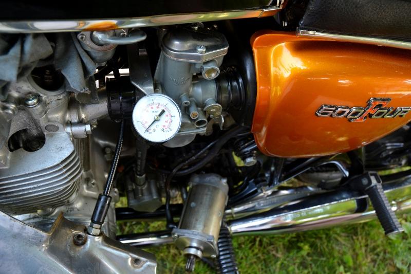 honda cb500 four oil pressure