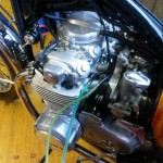 Equilibratura carburatori Honda CB 500 Four 3