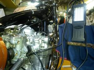 Equilibratura carburatori Honda CB 500 Four 4