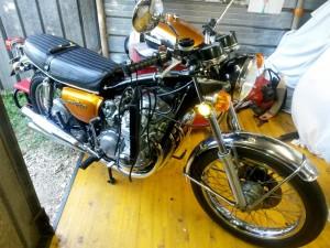 Equilibratura carburatori Honda CB 500 Four 1