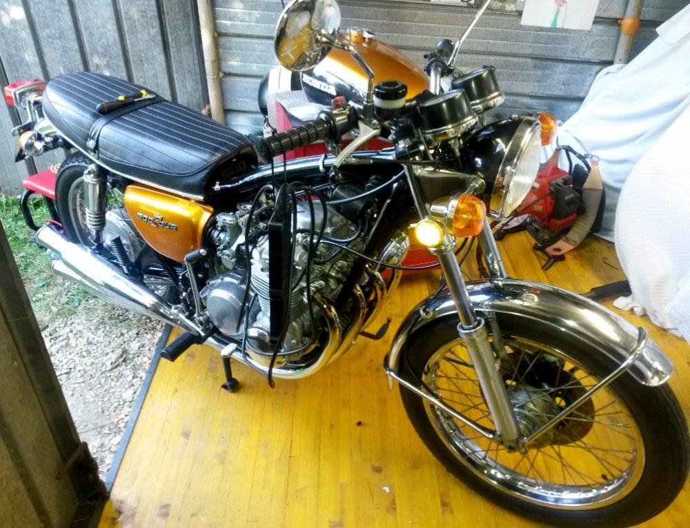 Equilibratura carburatori Honda CB500 Four